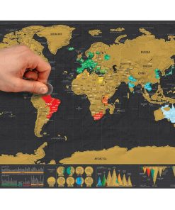 Scratch all the countries visited or you are planned to do