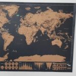 Scratching off Travel World Map