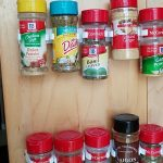 Efficient Cabinet Clip and Store Organiser for Spices
