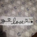Easily Removable LOVE Wall Sticker