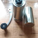 Advance & Stylish Silver Manual Coffee Grinder